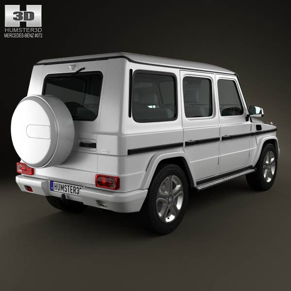 Royalty free mercedes benz g65 amg 3d model by element