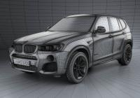 Обвес на BMW X3 M Sport Package (F25) 2014
