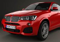Обвес на BMW X4 M Sport Package (F26) 2014