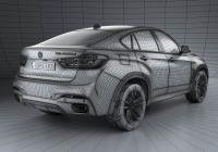 Обвес на BMW X6 (F16) M sport package 2014