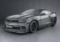 Обвес на Chevrolet Camaro Z28 coupe 2014