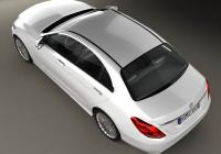 Обвес на Mercedes-Benz C-Class (W205) sedan 2014