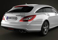 Обвес на Mercedes-Benz CLS-Class 63 AMG Shooting Brake