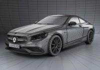 Обвес на Mercedes-Benz S-Class (C217) coupe AMG Sports Package 2014