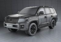 Обвес на Toyota Land Cruiser (J200) 2013