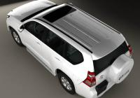 Обвес на Toyota Land Cruiser Prado (J150) 5-door 2014